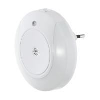 Lampa de veghe LED cu senzor de sunet TINEO, alba, L:9cm