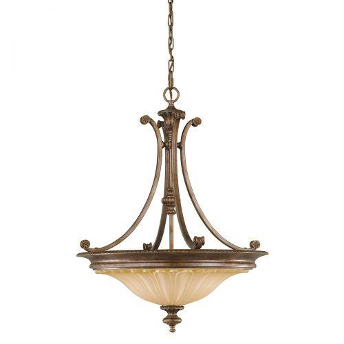 Candelabru STIRLING CASTLE, bronz, H:237.9cm, 3 becuri
