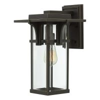 Aplica MANHATTAN Medium, bronz, H:38.1cm, IP44