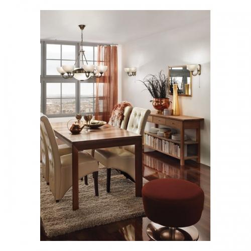 Lustra living Eglo Savoy 82749 6x40W E14 + 2x60W E27