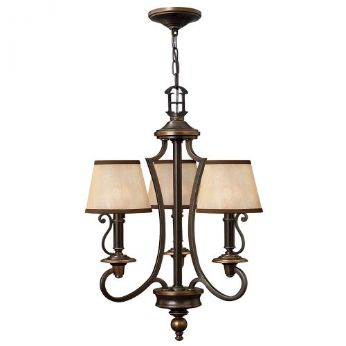 Lustra PLYMOUTH, bronz, H:222.6cm, 3 becuri