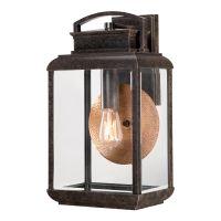 Aplica BYRON Large, bronz, H:45.7cm, IP44