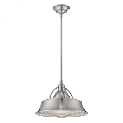 Pendul/Plafoniera CODY, nichel, H:120cm, 2 becuri