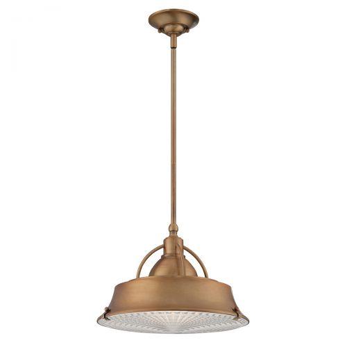 Pendul/Plafoniera CODY, cupru, H:120cm, 2 becuri