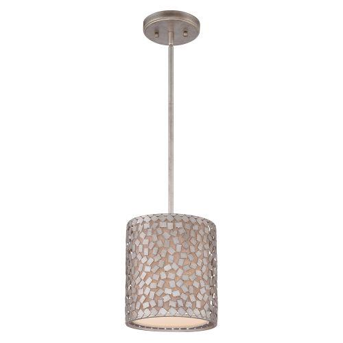 Pendul CONFETTI Mini, argintiu, H:121.9cm