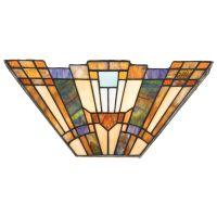 Aplica INGLENOOK Tiffany, L:41cm, 2xE14, orientata in sus, multicolora