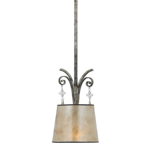 Pendul KENDRA, auriu argintiu, H:128.5cm