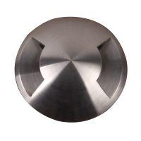 Spot FUSION, argintiu, H:2.5cm, IP67, 3 becuri