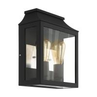 Aplica moderna exterior SONCINO, 2xE27, neagra