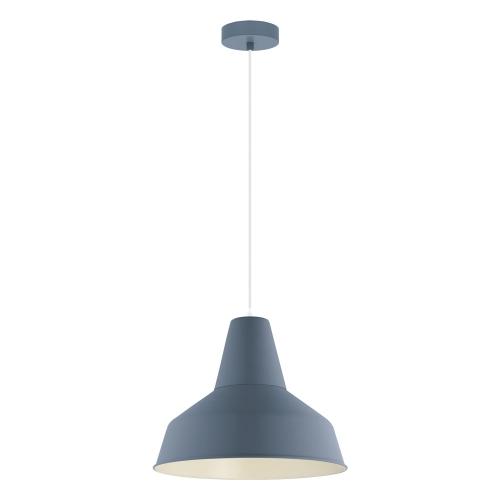 Pendul retro albastru SOMERTON-P, D:35cm