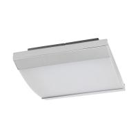 Plafoniera LED de baie SIDERNO, crom/alb satinat, patrata, 2900lm, 4000K