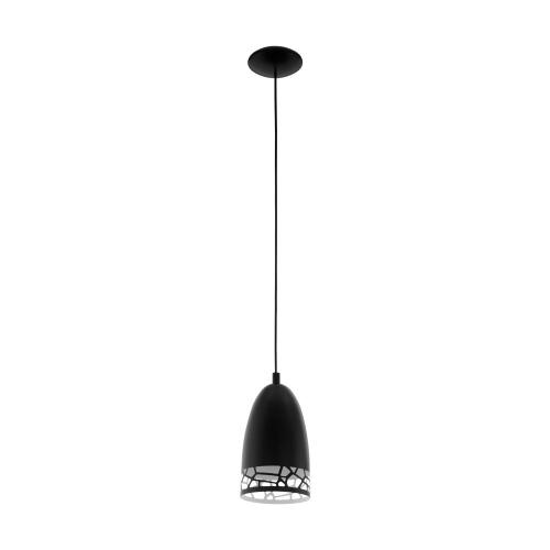 Pendul bucatarie SAVIGNANO, D:16cm, negru, decupat