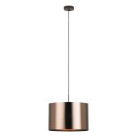 Pendul modern SAGANTO 1, 39393, E27, maro/cupru, D:35cm