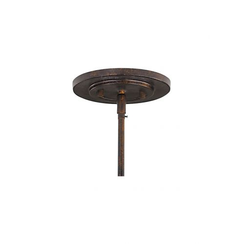Lustra / Semiplafoniera FUSION, bronz, D:53cm, H:38-175cm, 3xE27