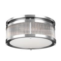 Plafoniera LED baie PAULSON Medium, IP44, D:38cm, 4xG9, crom