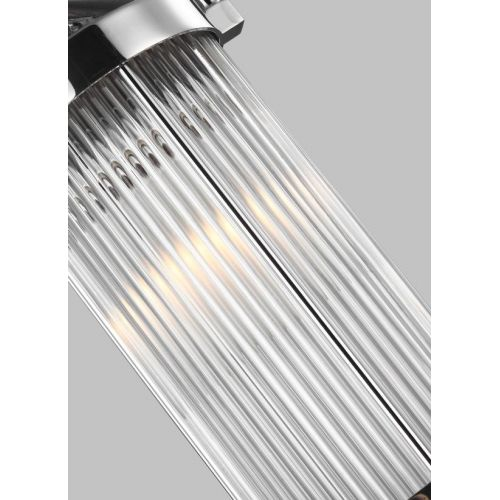 Pendul LED baie PAULSON Mini, IP44, D:13cm, H:42-148cm, 2xG9, crom