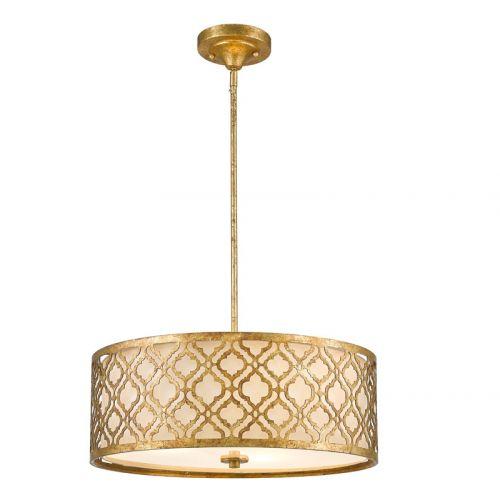 Pendul ARABELLA Large, auriu, H:132.1cm, 3 becuri
