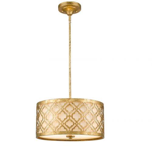 Pendul ARABELLA Medium, auriu, H:132.1cm, 2 becuri