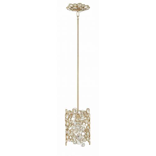 Pendul ANYA Mini, auriu, E27, 100W, H 55-116 cm