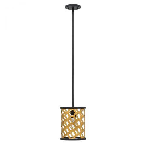 Pendul FELIX Mini, negru auriu, H:106.4cm