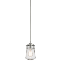 Pendul LYNDON Small, argintiu, H:128.9cm, IP44