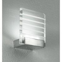 Aplica LED HYDRA, crom, H:16cm
