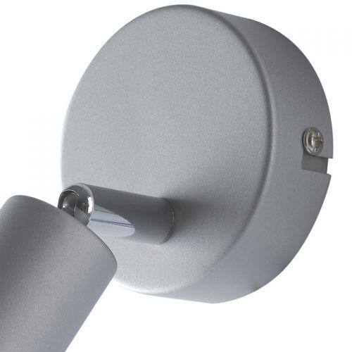 Spot LED COOPER, argintiu, L:14cm, 3W