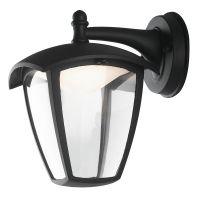 Aplica orientata in jos LED LADY, negru, H:23cm, 12W