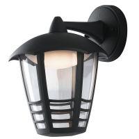 Aplica orientata in jos LED CLOE, negru, H:23cm, 12W