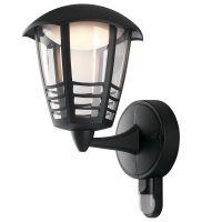 Aplica LED CLOE cu senzor, negru, H:29cm, 12W