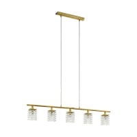 Suspensie bucatarie cristal aurie PYTON GOLD
