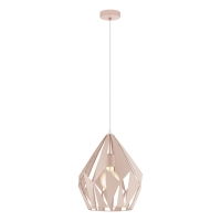 Pendul roz CARLTON-P, D:31cm