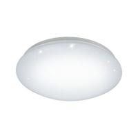 Plafoniera LED Relax&Work Ø300 alba cu efect cristal GIRON-RW