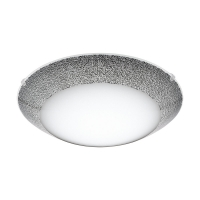 Plafoniera LED Magitta 1, 95668, Alb-Negru, Ø315, 11W, 950lm