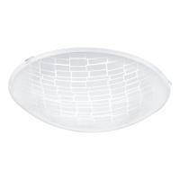 Plafoniera Malva, 96083, Alb-Transparent, Ø395, LED 16W, 1500lm