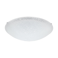 Plafoniera Margitta 1, 96115, Satin-Transparent, Ø315, LED 11W, 950lm