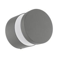 Aplica LED exterior EGLO Melzo, 97301, 11W, 950 lm, argintiu