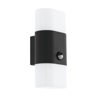 Lampa LED senzor miscare exterior EGLO Favria 1, 97314, 2x5,5W, 1300 lm, antracit