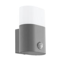 Lampa LED senzor miscare exterior EGLO Favria, 97315, 11W, 1250 lm, argintiu