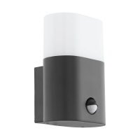 Lampa LED senzor miscare exterior EGLO Favria, 97316, 11W, 1250 lm, antracit