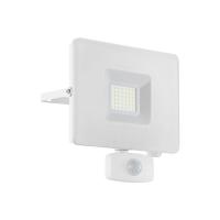 Proiector LED exterior cu senzor EGLO Faedo 33158, 30W, 2750 lm, 5000K, alb