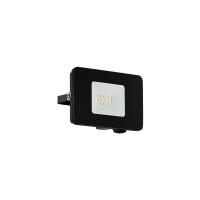 Proiector LED exterior EGLO Faedo 97455, 10W, 900 lm, 5000K, negru