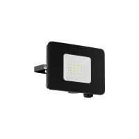 Proiector LED exterior EGLO Faedo 97456, 20W, 1800 lm, 5000K, negru