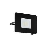 Proiector LED exterior EGLO Faedo 97457, 30W, 2750 lm, 5000K, negru