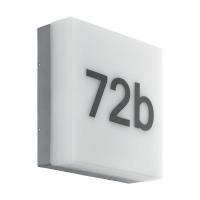 Numar casa LED EGLO Cornale 97289, 8.2W, 820 lm, 3000K, antracit