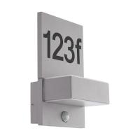 Numar de casa LED cu senzor crepuscular EGLO Ardiano 97127, 2x5.6W, 1200 lm, 3000K