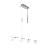 Suspensie living LED, Borriol 32868, crom/nichel, 4x4,5W, 3000K, 2000lm