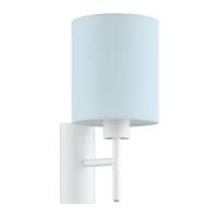 Lampa citit pentru perete PASTERI-P, bleu, E27-60W