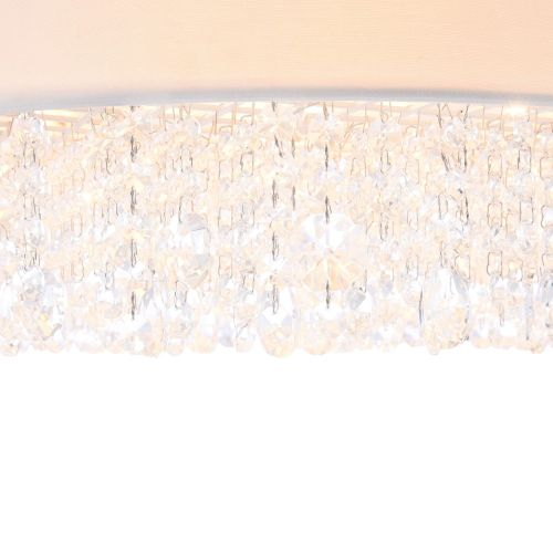 Lustra living moderna Maytoni Manfred, alba, 10xE14 60W