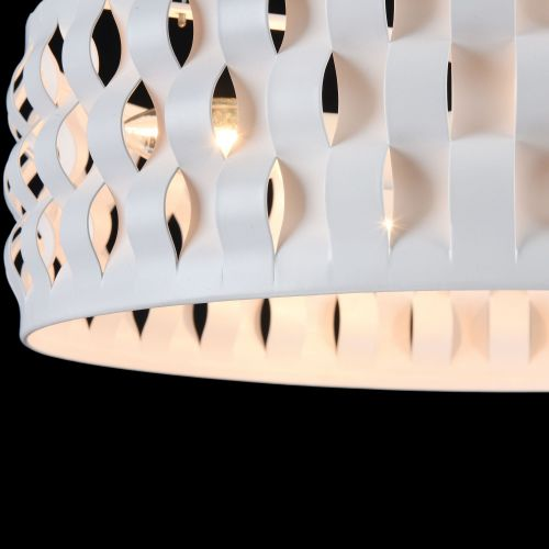 Lustra bucatarie moderna Maytoni Delicate, alba, 4xE14 40W
